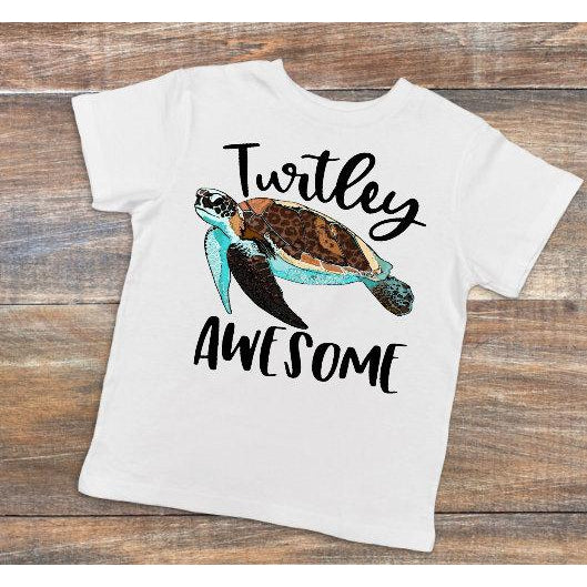 Turtley Awesome - Dye Sublimated shirt - Lady Phoenix Creations