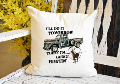 I'll do it tomorrow today I'm hunting Pillow Cover - dye sublimation - Lady Phoenix Creations