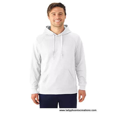 Adult Unisex 6 oz. DRI-POWER® SPORT Hooded Sweatshirt - For Dye Sublimation - Lady Phoenix Creations