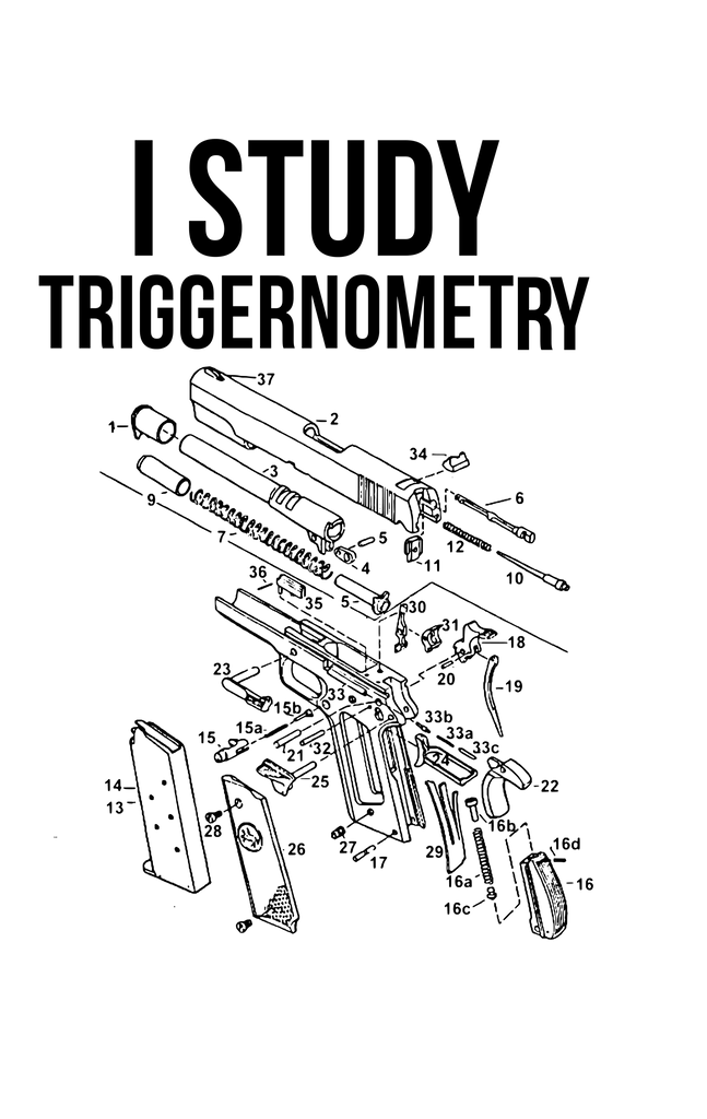 I Study Triggernometry PNG ONLY no product sent digital download only