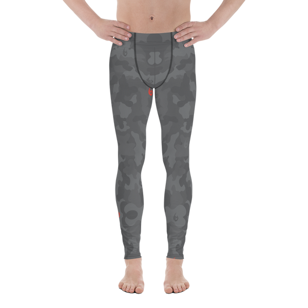 Men's Grey Camo Leggings
