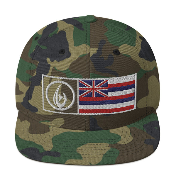 Logo Hawaii Snapback Hat