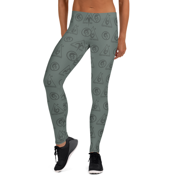 Logo Camo Leggings