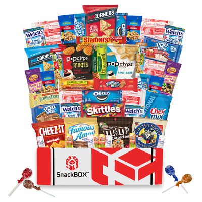 Original SnackBOX Care Package (50 Count)-SnackBOX