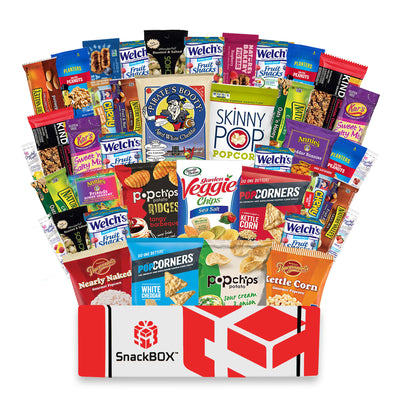 NEW Healthy Snacks Assortment Care Package (40 Count)-SnackBOX
