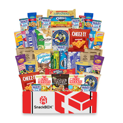 Original SnackBOX Care Package (40 Count)-SnackBOX