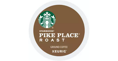 ADD ON ITEM | 6 .55oz STARBUCKS PIKE PLACE ROAST KEURIG K CUPS (6 Pack)-SnackBOX