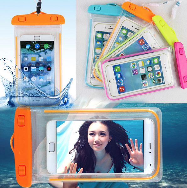 100% Sealed Waterproof Pouch for Smartphone