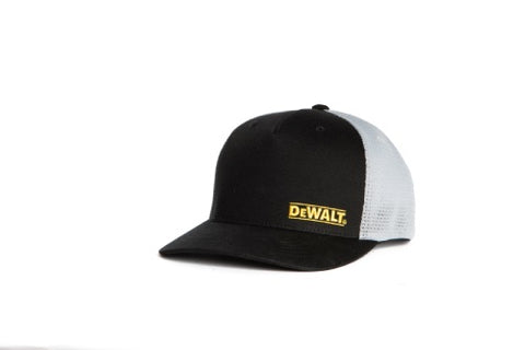 Oakdale Trucker Hat Black with Light Grey mesh