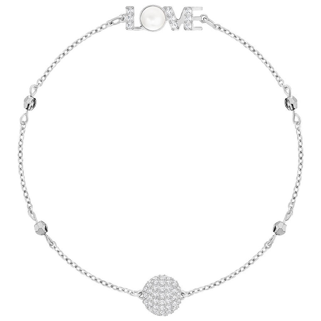 Bracelet Swarovski Emotion Remix Collection, Blanc, Métal Rhodié - 5368071