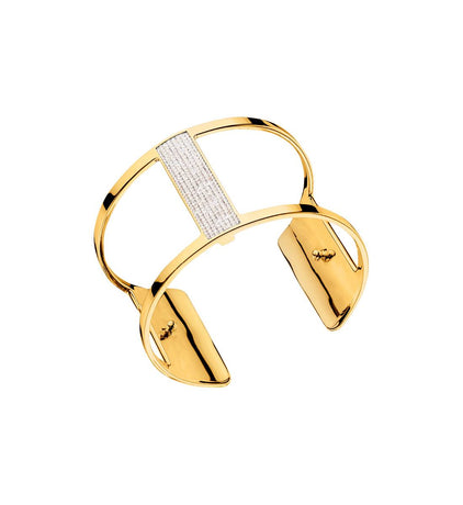 Manchette Les Georgettes Barrette 40mm en finition or - 7027685 01 08