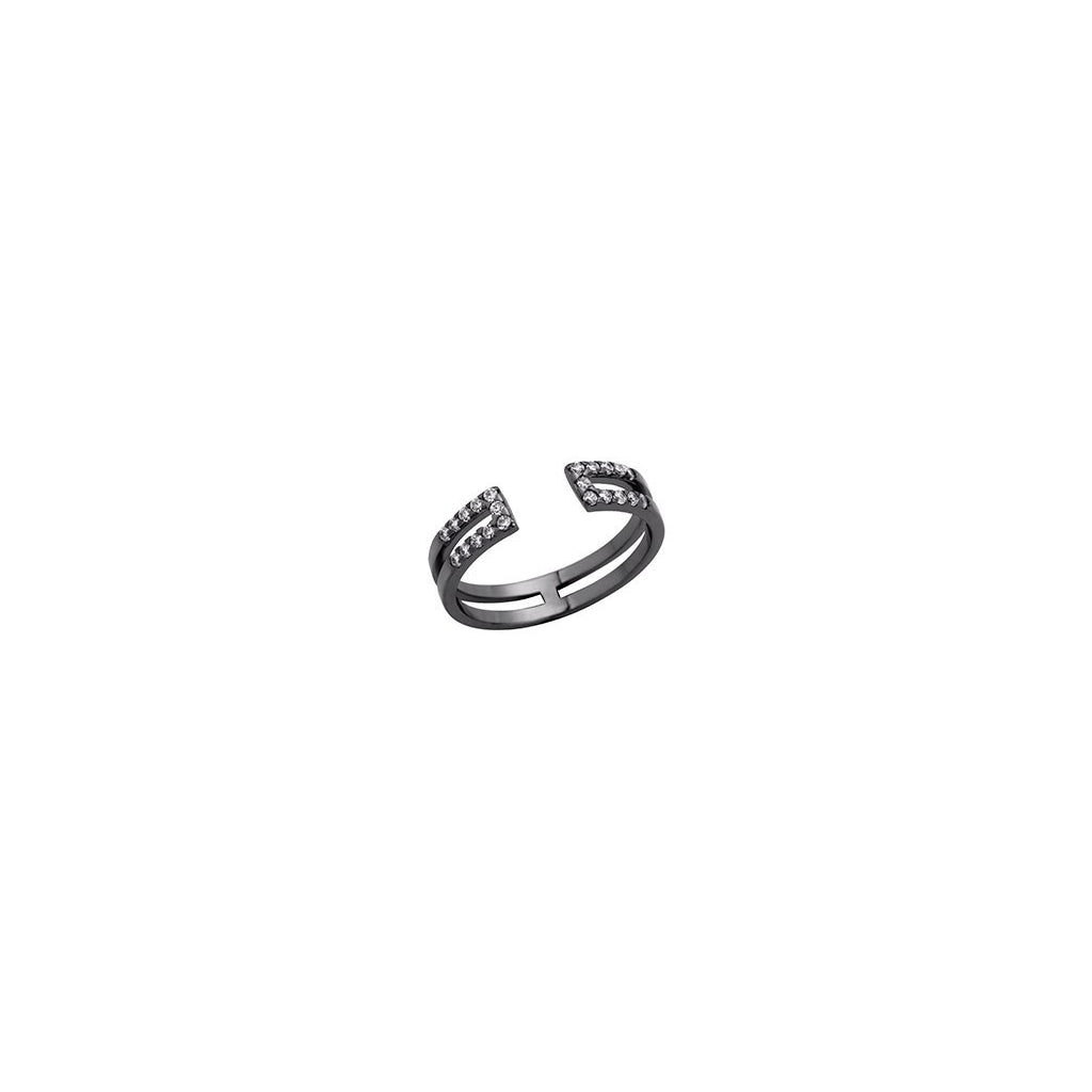 Bague Altesse Gravity en finition Ruthénium - 702917935