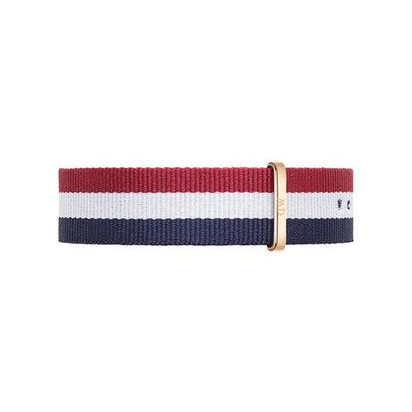 Bracelet de montre Daniel Wellington Cambrige Nato 20mm-RG - DW00200003