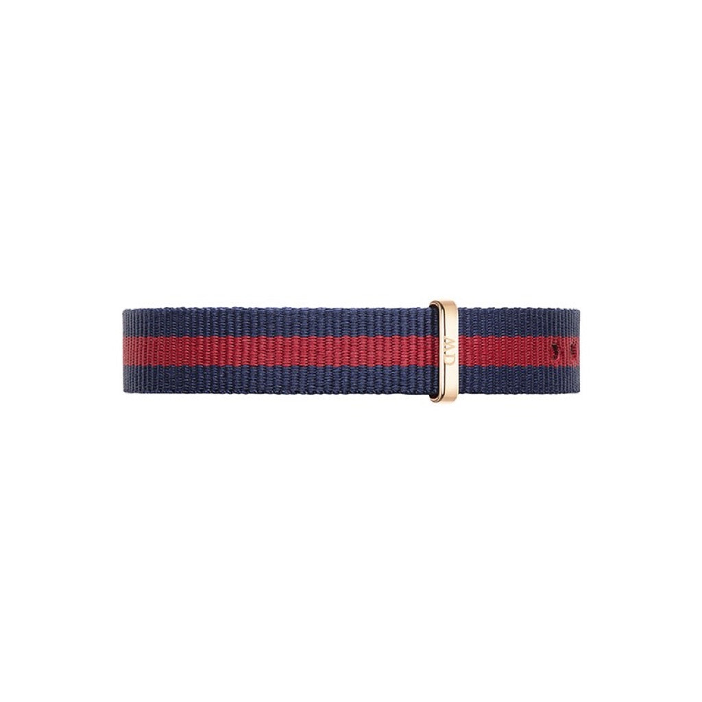 Bracelet de montre Daniel Wellington Oxford Nato 13mm RG - DW00200064