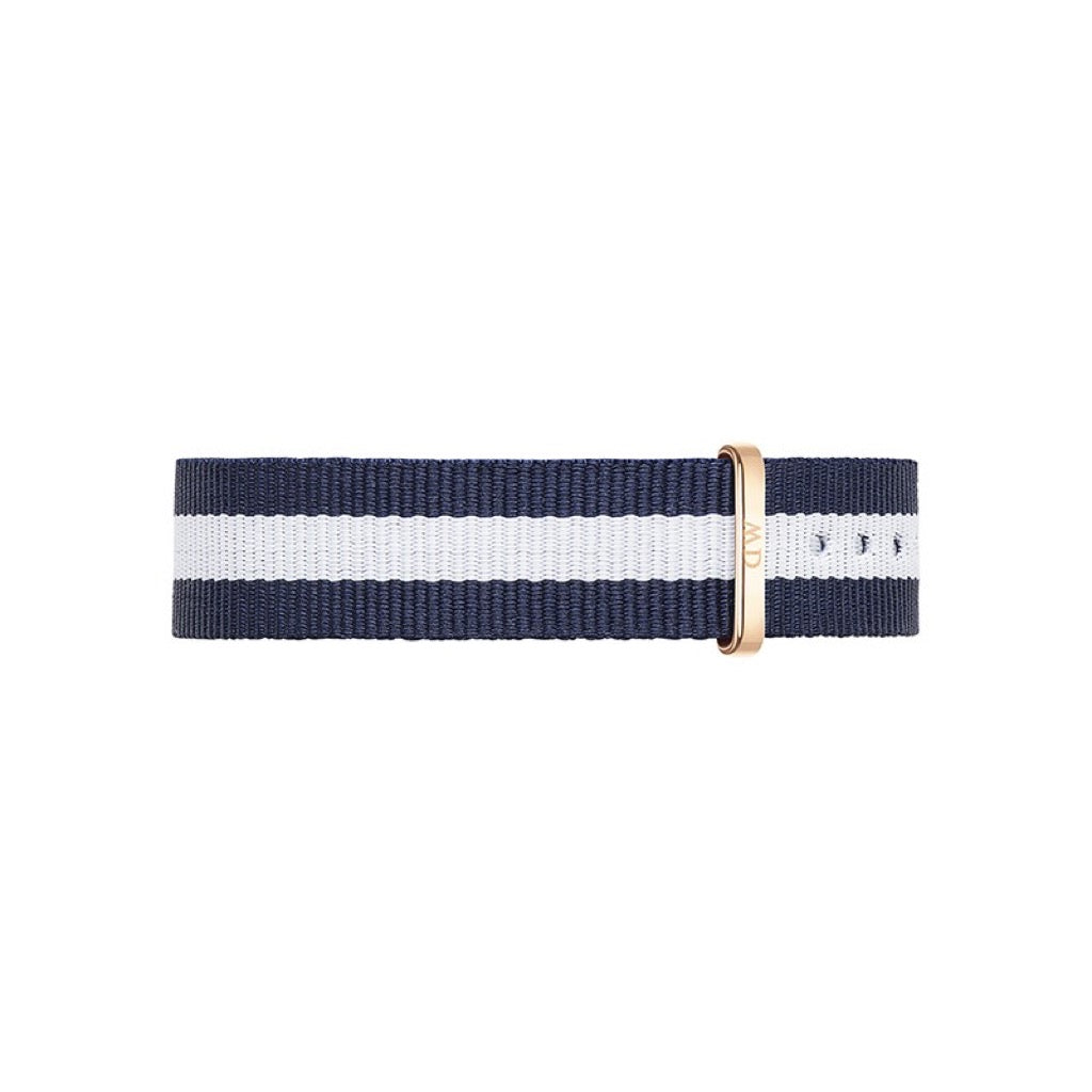 Bracelet de montre Daniel Wellington Glasgow Nato 17mm-RG - DW00200078