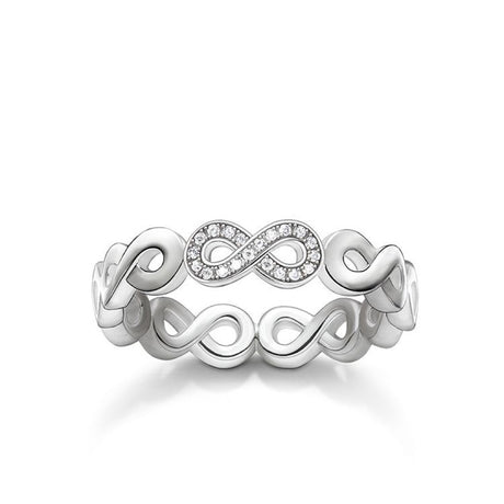 "Bague Thomas Sabo Glam & Soul ""Infinity"" - D-TR0003-725-14"