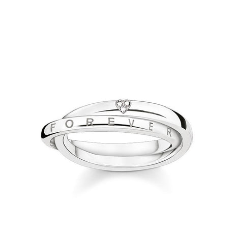 "Bague Thomas Sabo Glam & Soul ""Together Forever Heart"" - D_TR0017-725-14"