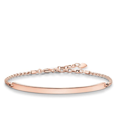 Bracelet Thomas Sabo Sterling Silver Love Bridge - LBA0008-415-12