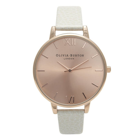 Montre Olivia Burton Big Dial Mink & Rose Gold - OB13BD11