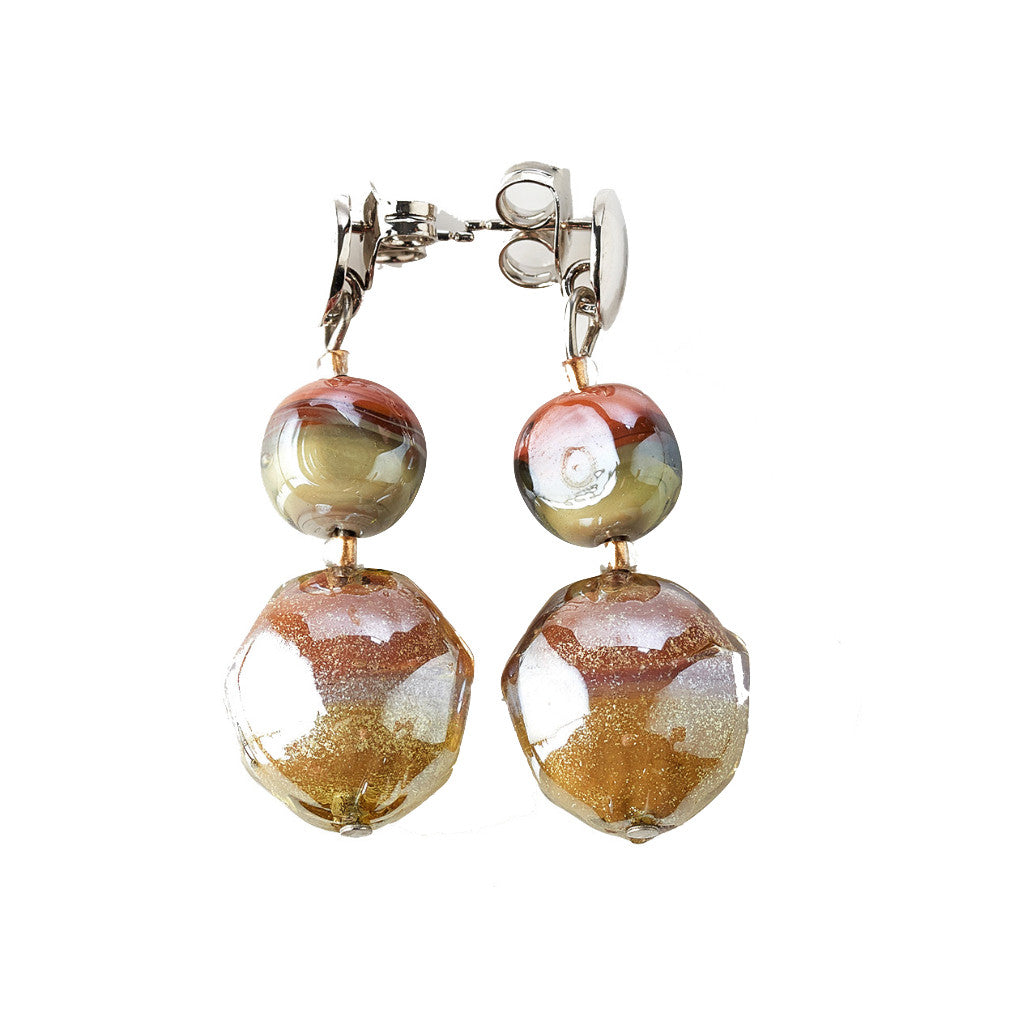 Boucles d'oreilles Antica Murrina Labia - OR526A10