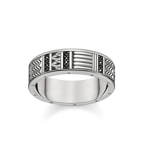 "Bague Thomas Sabo Glam & Soul ""Hieroglyphs Ornamentation"" - TR2108-643-11"