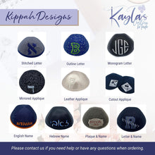 Black and Gray Spots Kippah4U