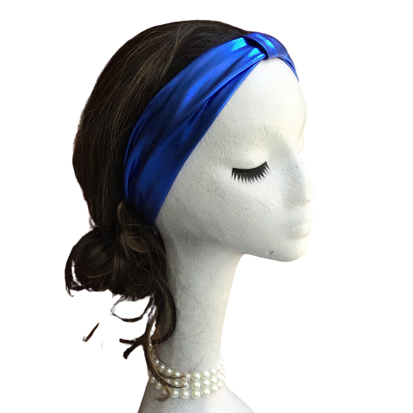 Blue Hologram Headband