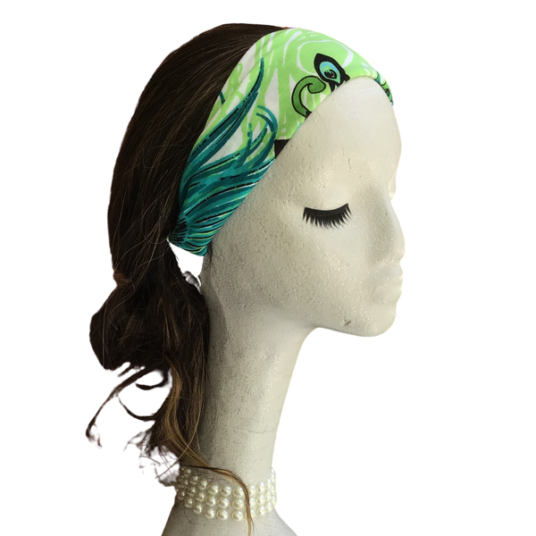 Peacock Feathers Headband
