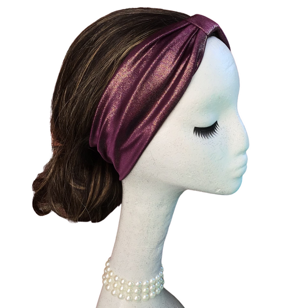 Purple with a Glitter of Glam Headband