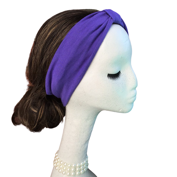 Solid Purple Headband