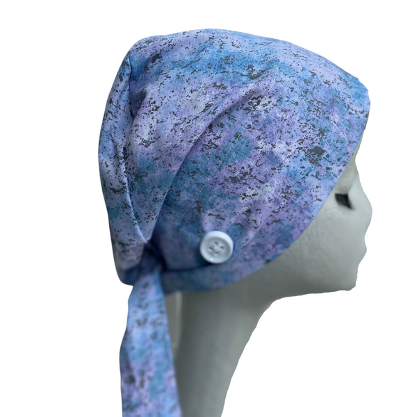 Mermaid Splatter Scrub Cap