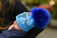 Personalized Baby Hat with Pom Pom