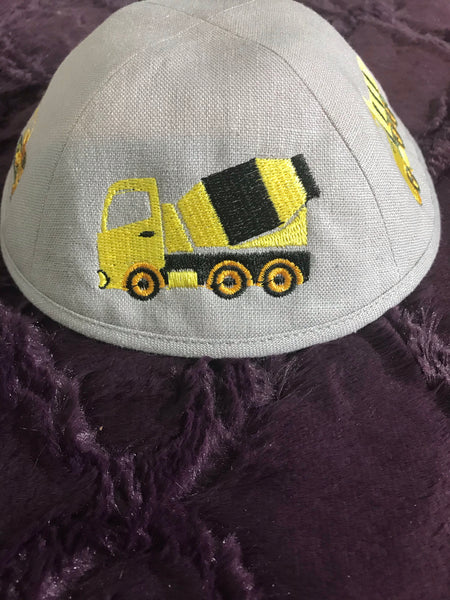 Embroidered Trucks