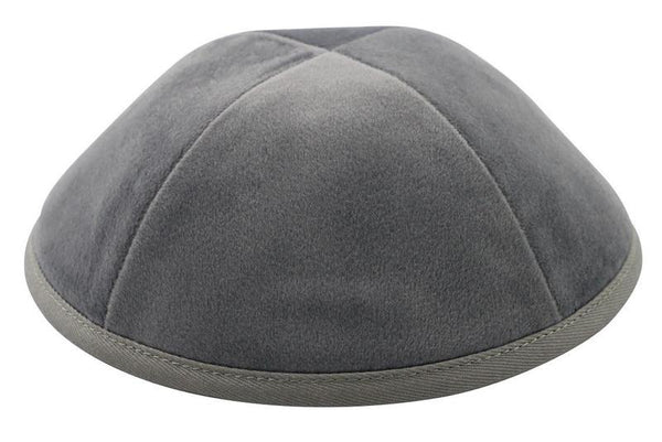 Light Gray Velvet Ikippah