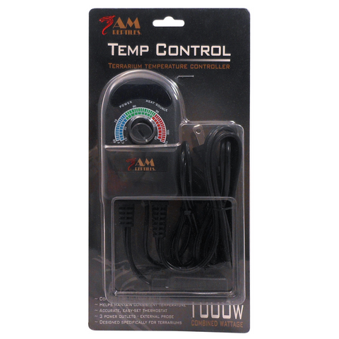 AM Reptiles Thermostat - 3 Outlet - 1000w