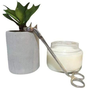 Candle Wick Trimmer Silver
