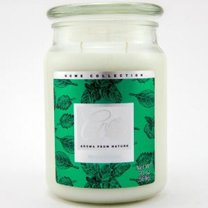 2 WICK CANDLE MENTHE FROISSEE 566g
