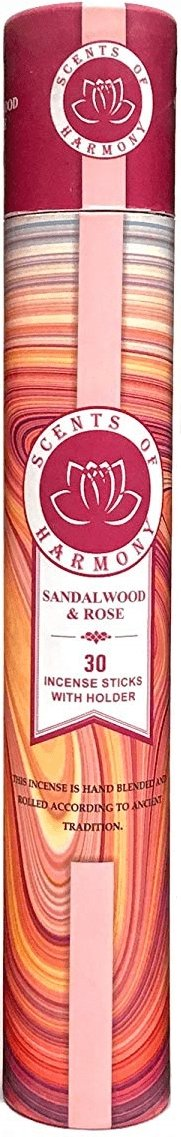 Scents of Harmony Incense SANDALWOOD ROSE