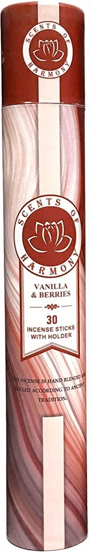 Scents of Harmony Incense VANILLA & BERRIES