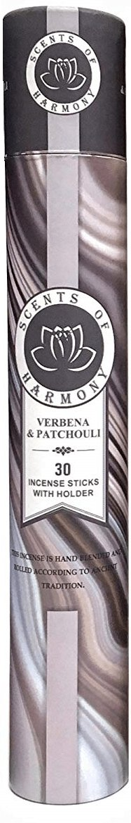 Scents of Harmony Incense VERBENA & PATCHOULI