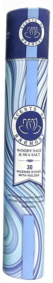 WOODY SAGE & SEA SALT Scents of Harmony Incense