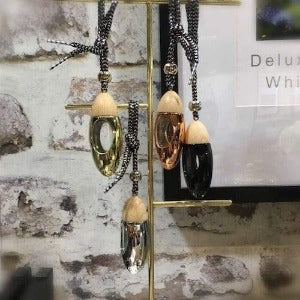 10 ml Bullet Shape Hanging Car Perfume Glass Bottle