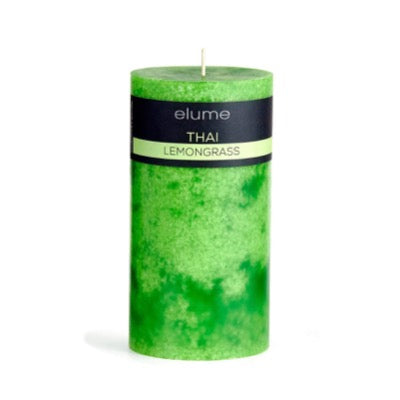 Thai Lemongrass Pillar Candle Elume
