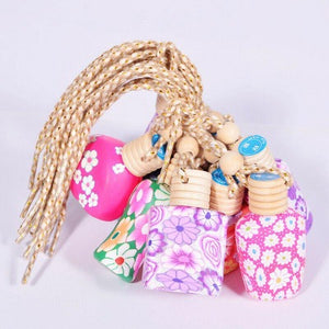 Car Air Freshener Perfume Diffuser Fragrance Bottle Assorted