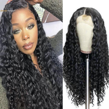 Amanda's (10011) Curly Lace Front Human Hair Wig