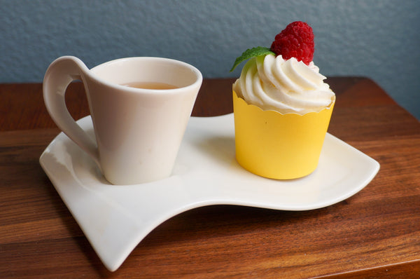 Case of Solid Lemon Yellow Bake-In-Cups-  1200 Large/1440 Small