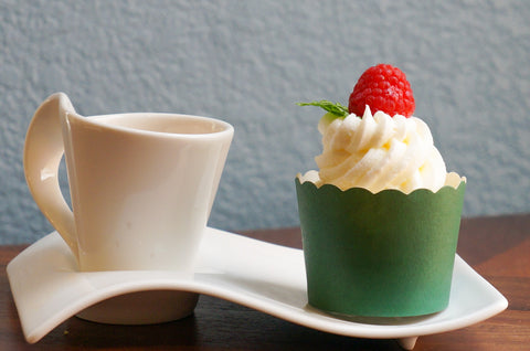 Case of Solid Green Bake-In-Cups-  Large/Small