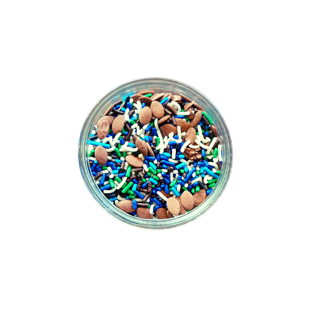 Football Game Mix Sprinkles  (3 oz)