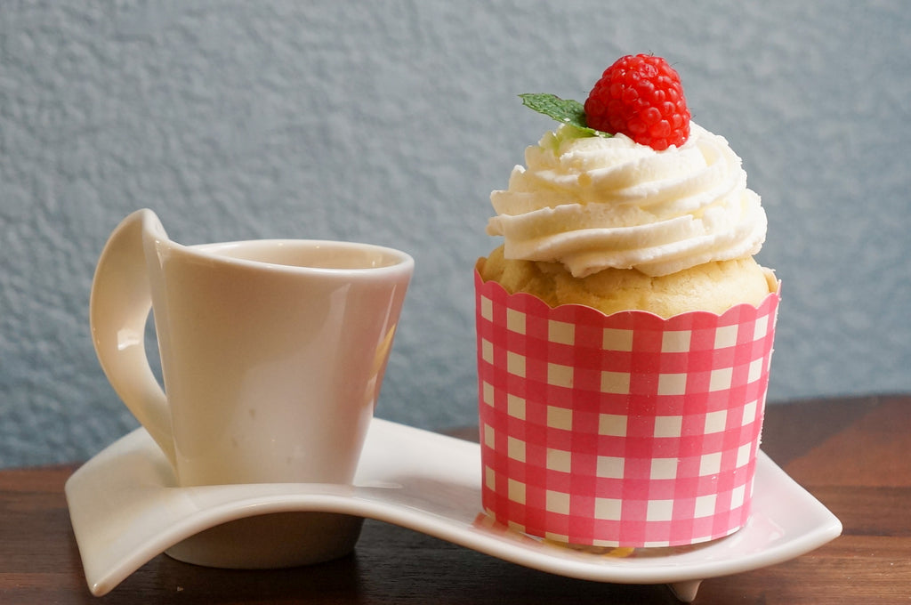 Large Pink Gingham Bake-In-Cups