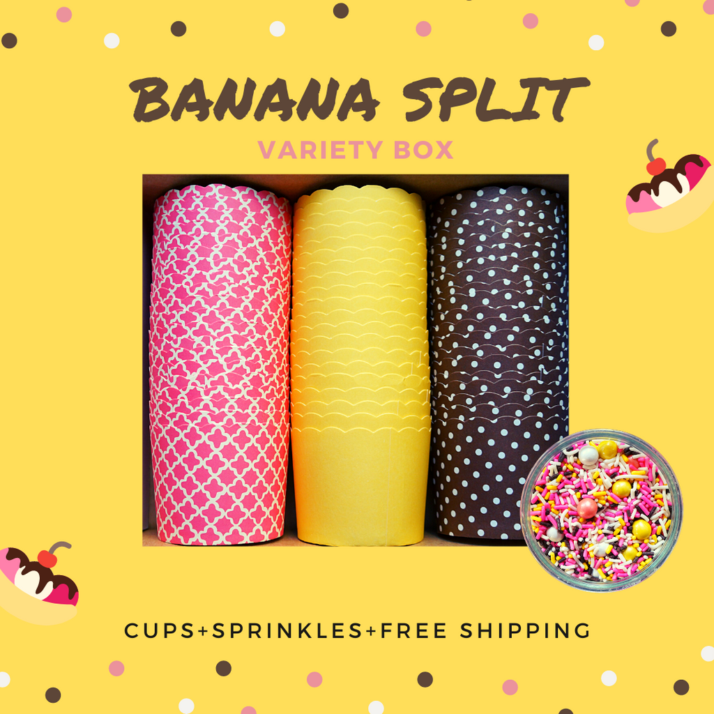 """Banana Split"" Variety Pack- Shipping Included"